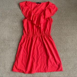 FOREVER 21 Tropical Coral Dress